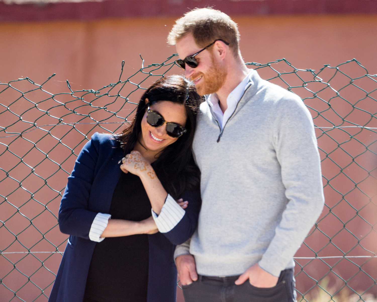 Meghan Markle and Prince Harry's Morocco Trip Was Packed With PDA (Including Him Playing With Her Hair)