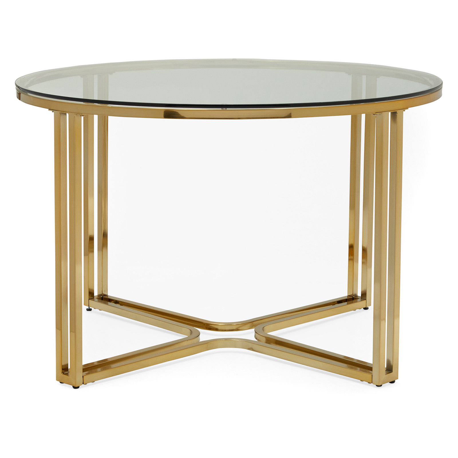 MoDRN Glam Marni Glass Dining Table 399 Walmart Com Credit