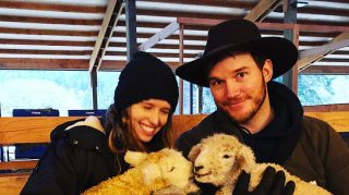 chris pratt schwarzenegger katherine sheep