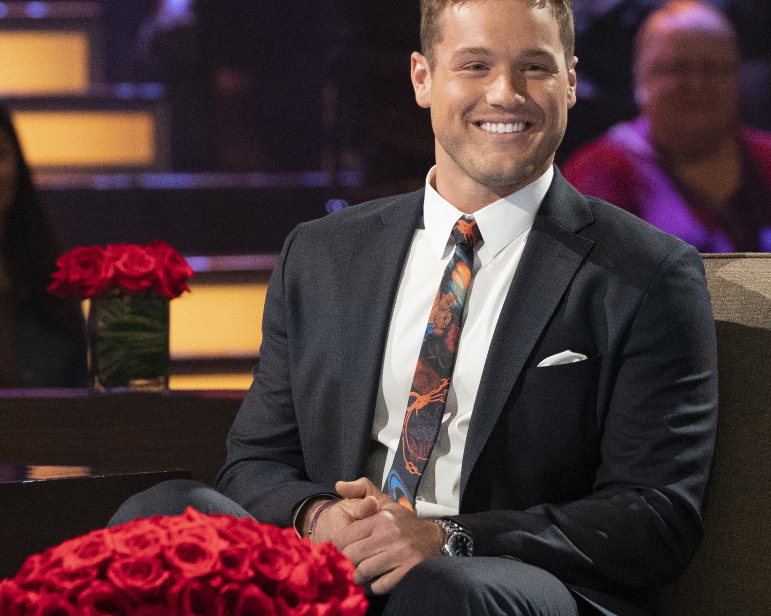 Bachelor Colton Underwood Has a Neil Lane Engagement Ring After All