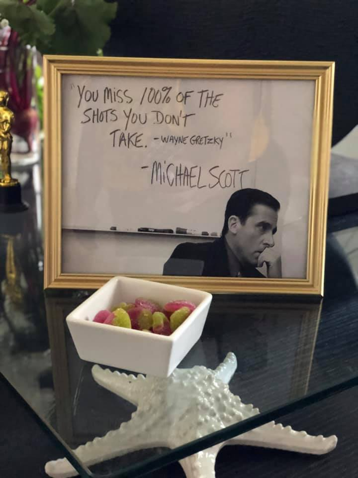 the office themed bridal shower