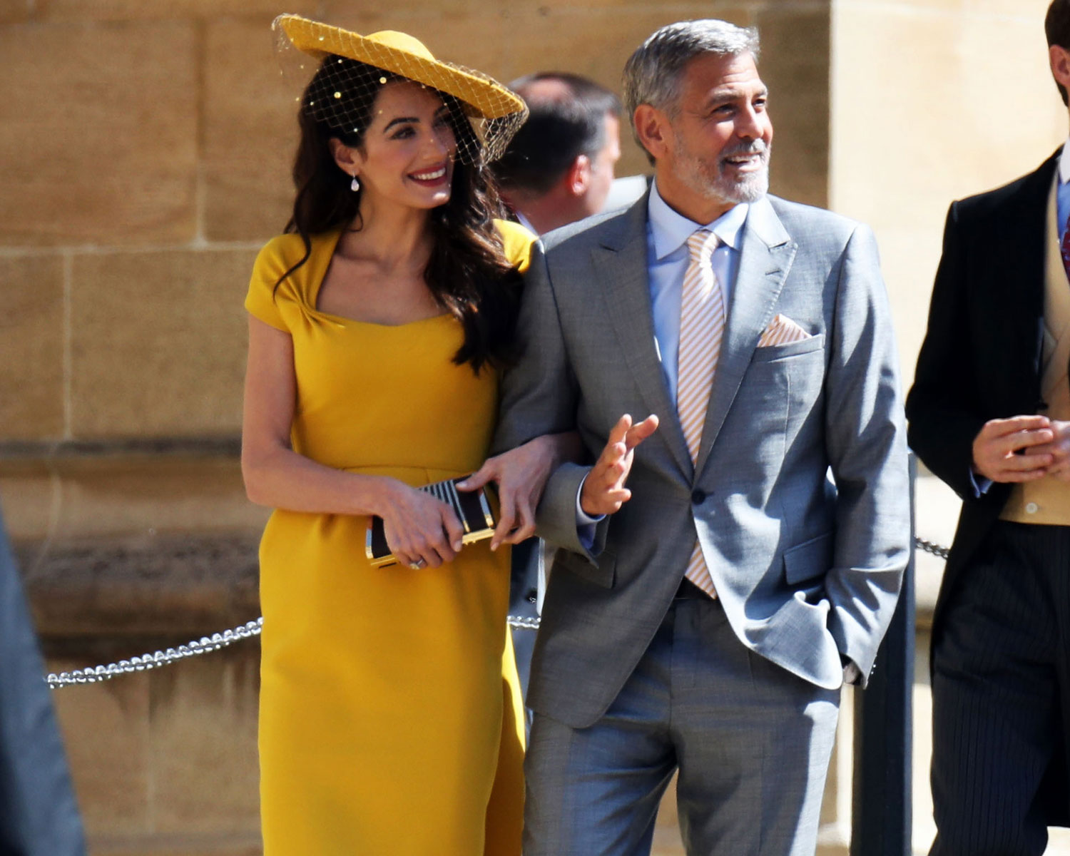 "George Clooney Describes Meghan Markle and Prince Harry as a ""Really Wonderful, Loving Couple"""