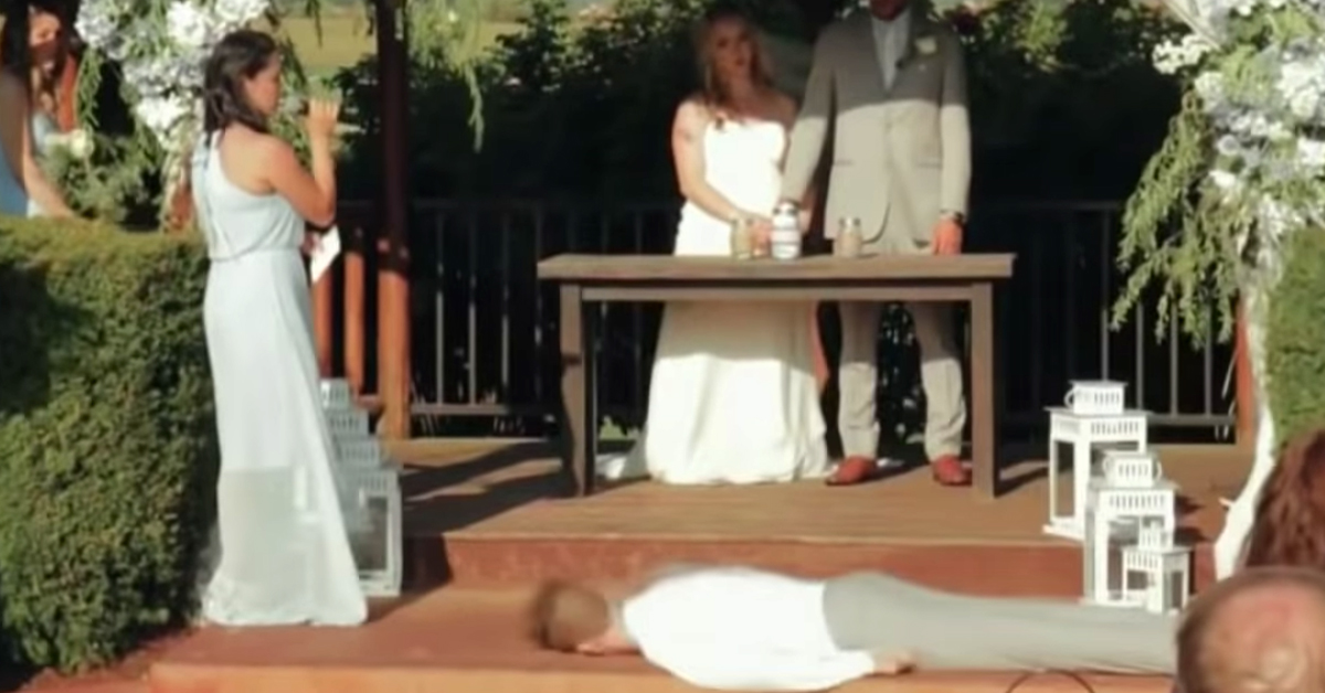 Jimmy Kimmel Finds Out Exactly What Happened to the Best Man Who Fainted in That Viral Wedding Video
