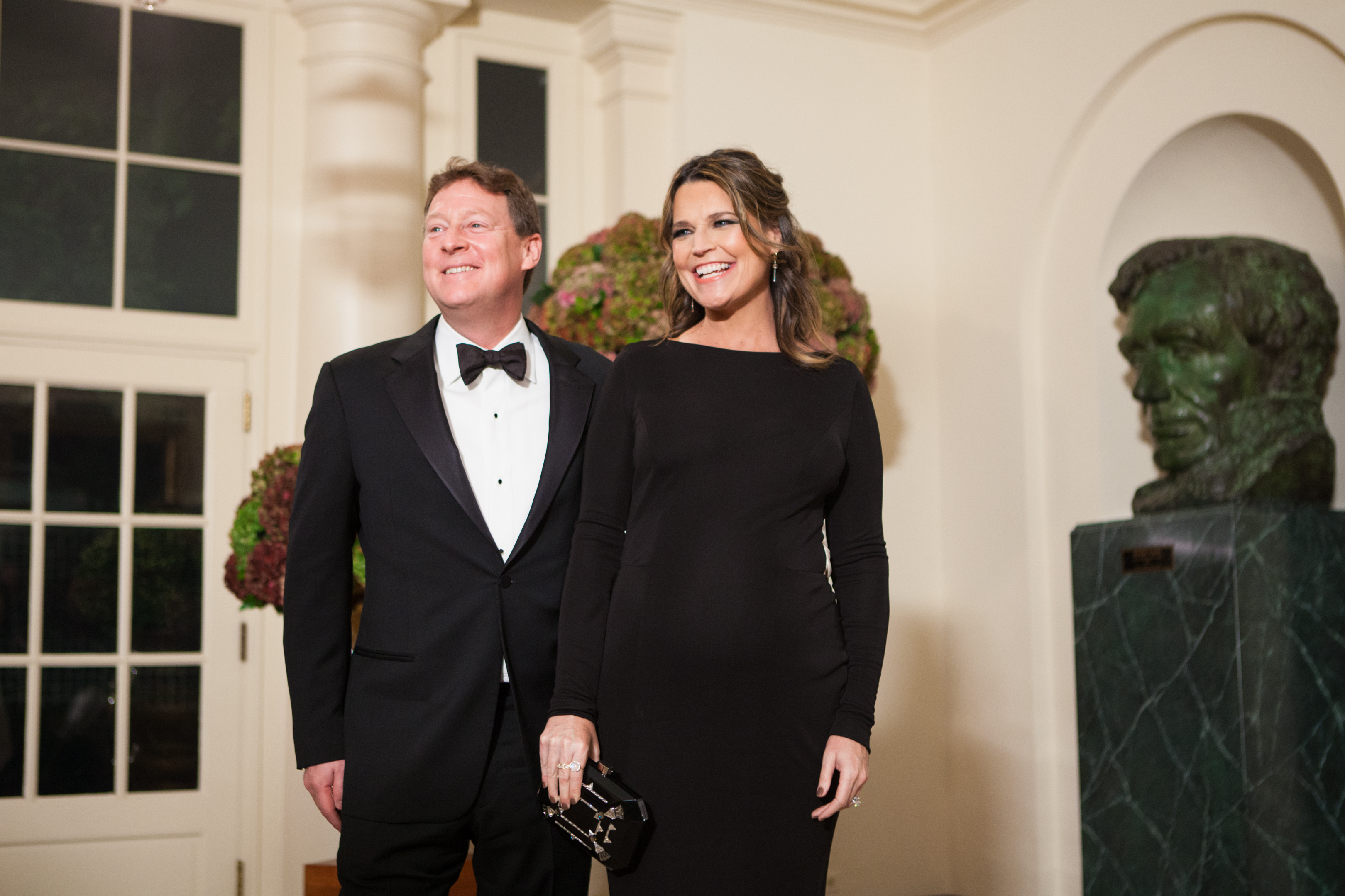 Savannah Guthrie Welcomes Her Fifth Anniversary With A Candid Wedding Photo