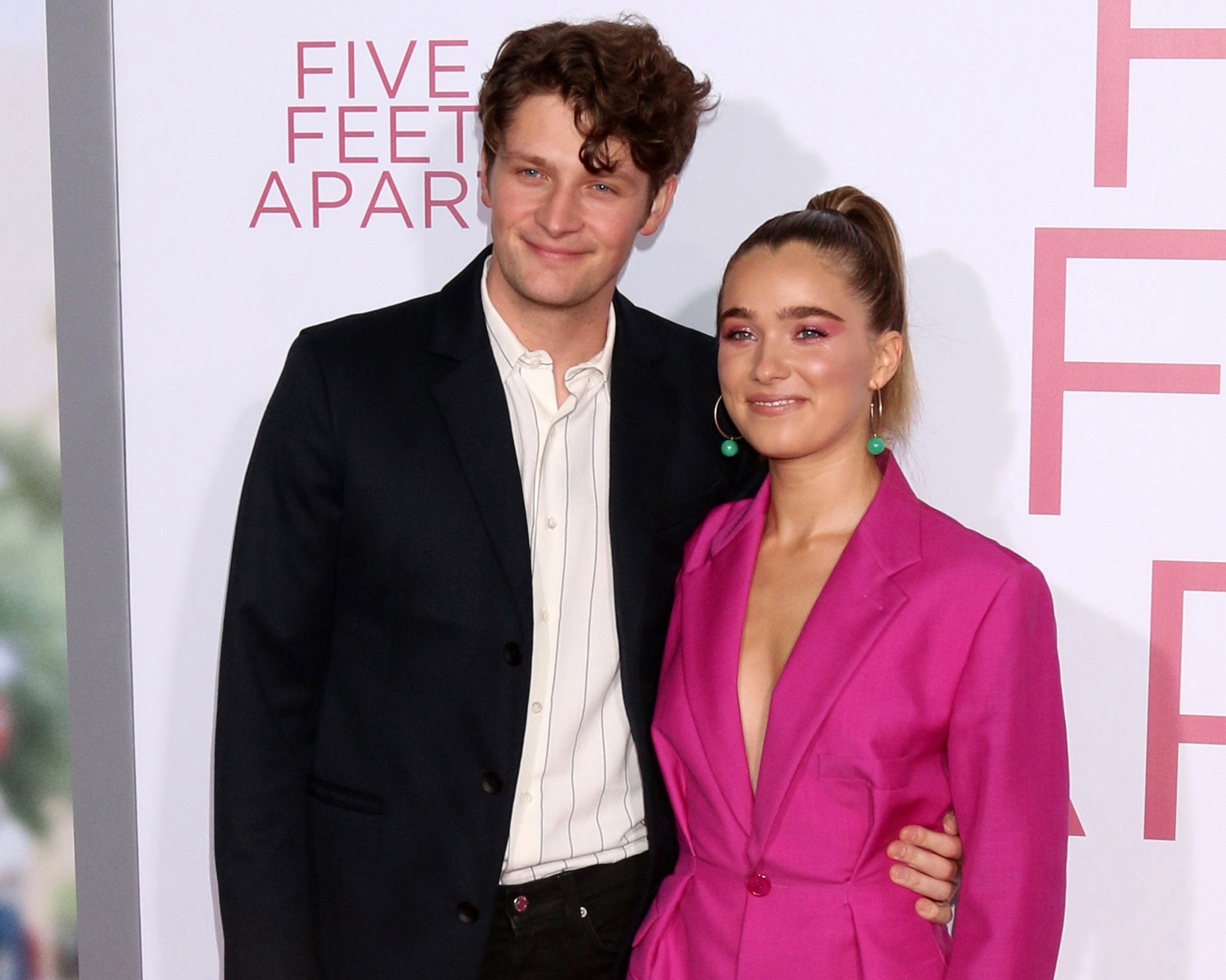 Five Feet Apart' Actress Haley Lu Richardson Proposed to Brett Dier