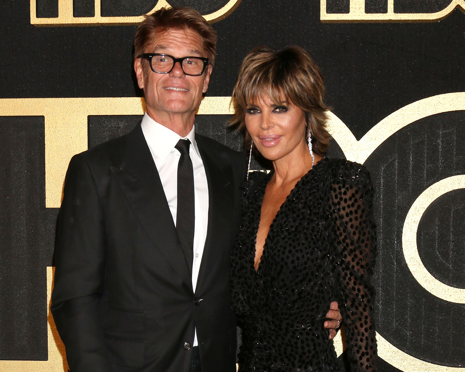 harry hamlin lisa rinna
