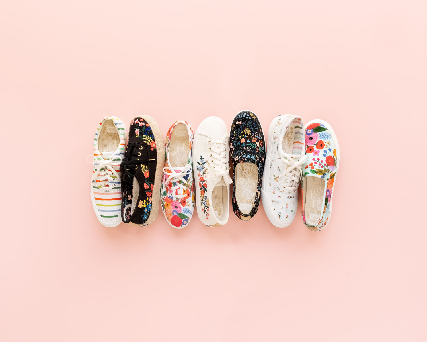 You Can Coordinate Your Wedding Website and Stationery to Keds and Rifle Paper Co.'s New Collection