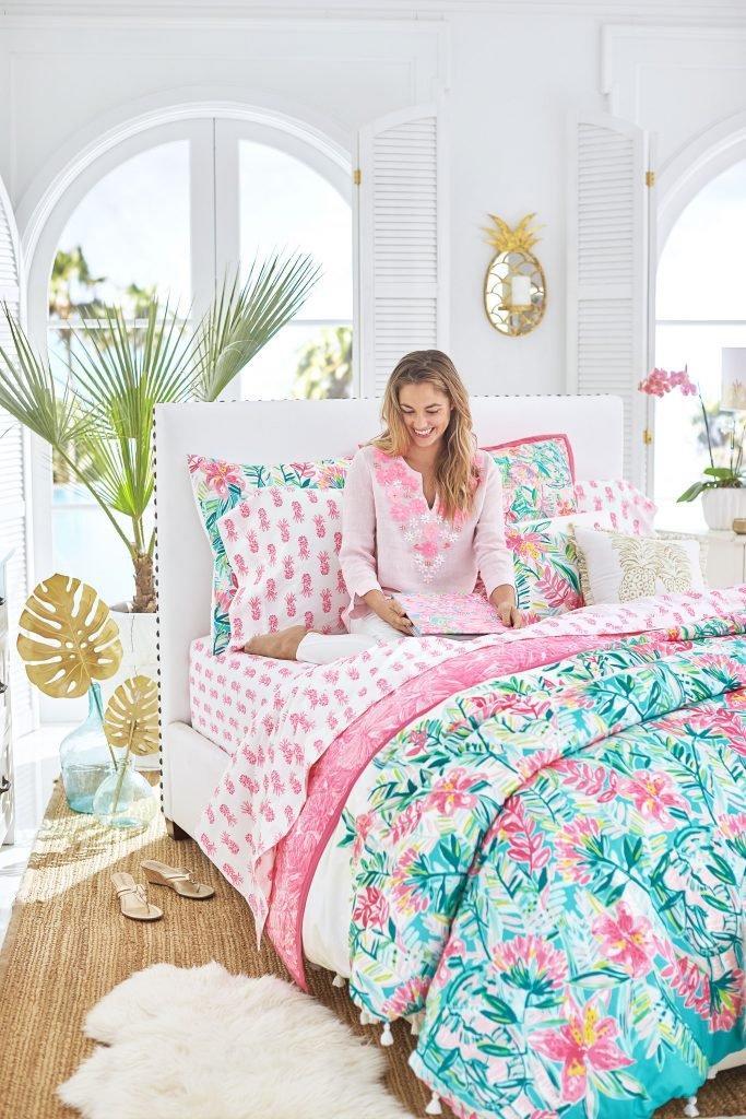 Lilly Pulitzer S New Pottery Barn Line Will Bring Sunshine