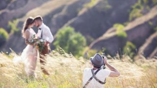 wedding photographer field