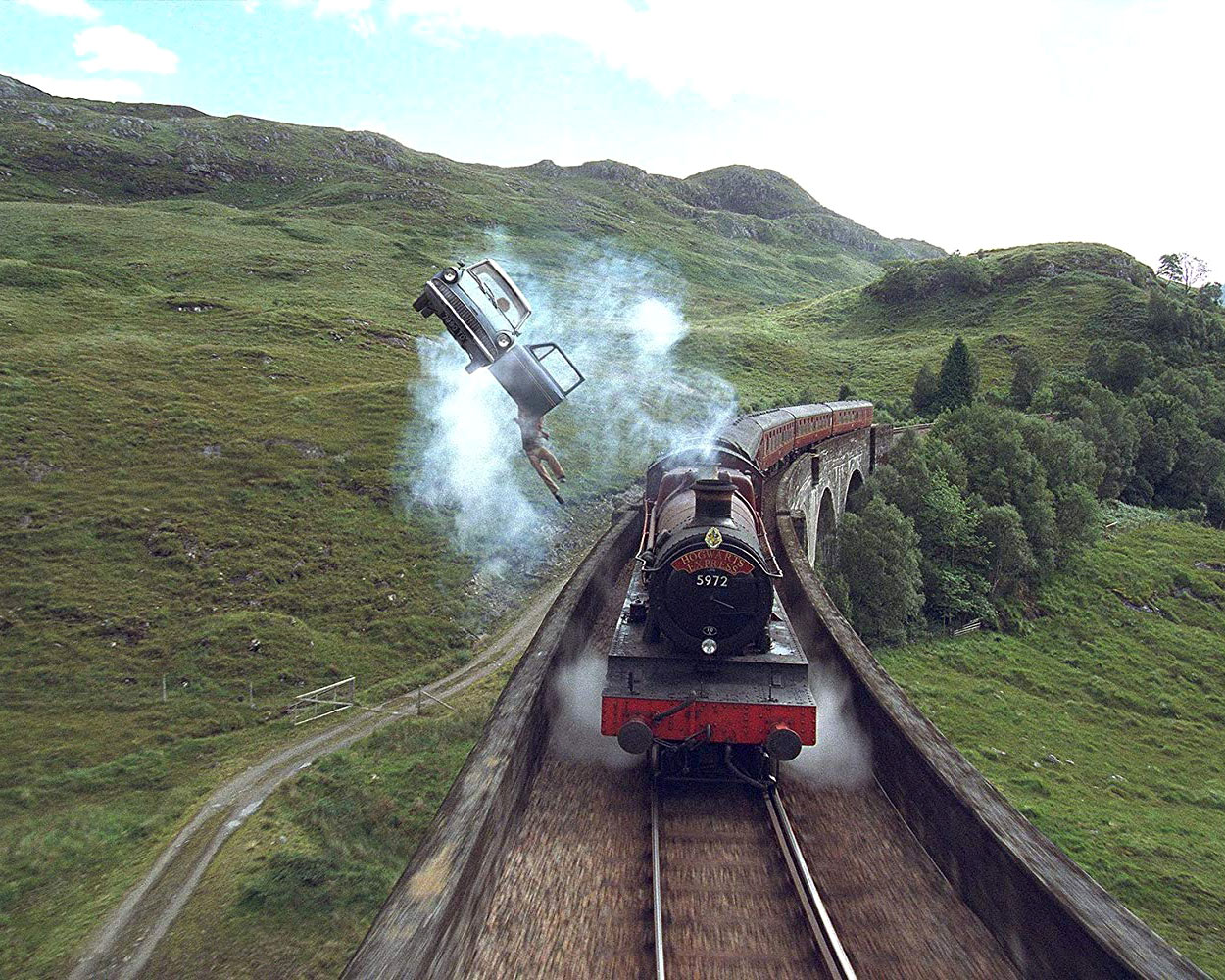 The Hogwarts Express Is Now Running So Your Honeymoon Plans Have Changed