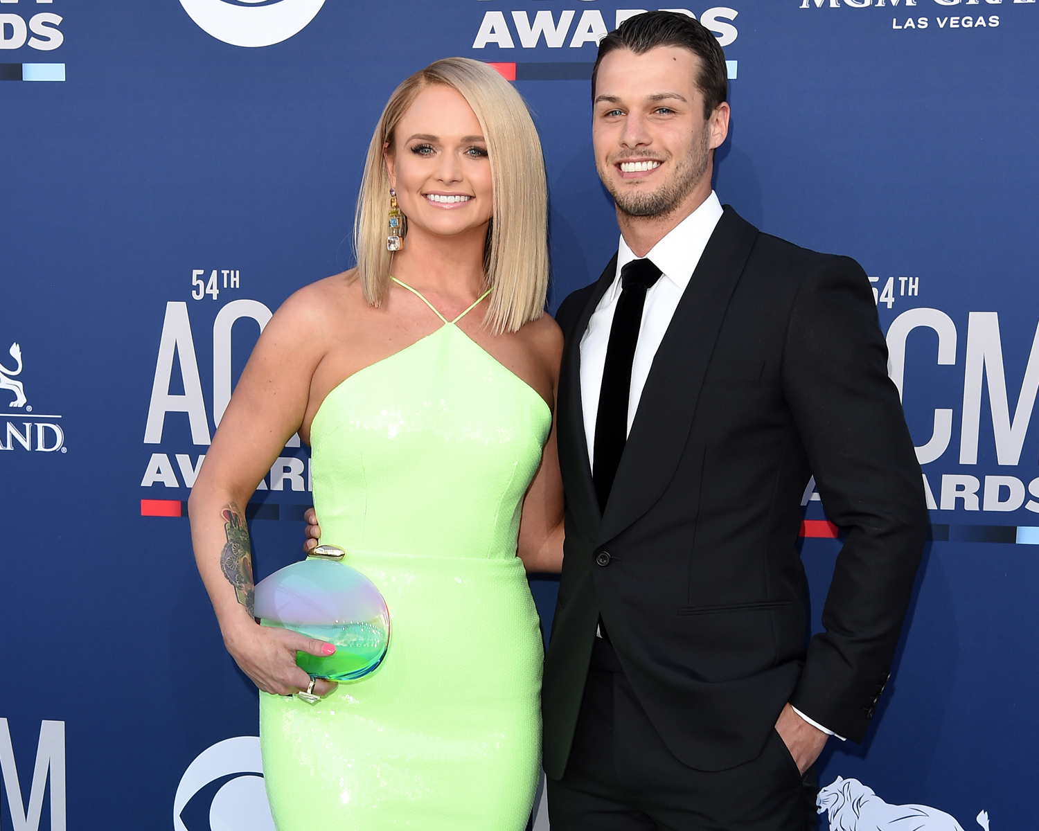 Miranda Lambert And Her Husband Make Their Red Carpet Debut