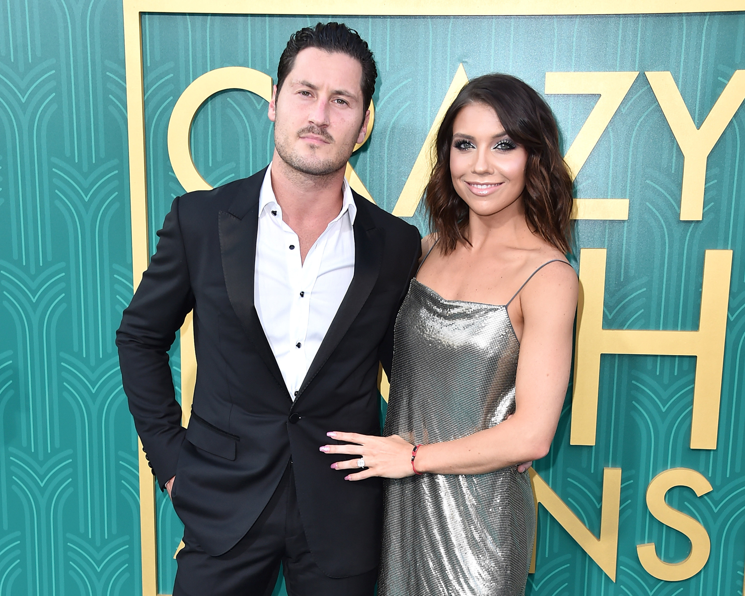 Val Chmerkovskiy and Jenna Johnson