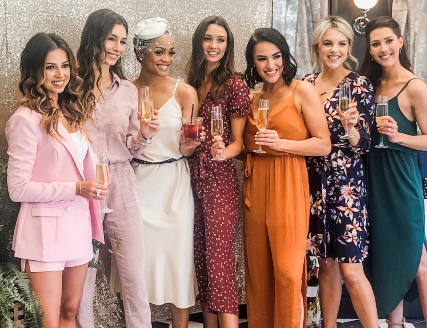 Exclusive: See Photos from Bachelorette Rachel Lindsay's Bridal Shower