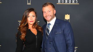 Sean McVay and Veronika Khomyn