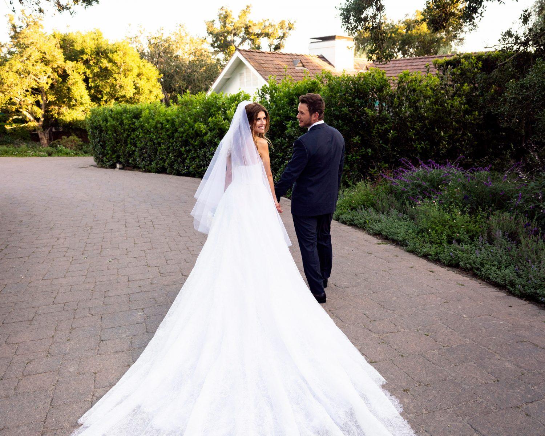 See Sketches of Katherine Schwarzenegger and Chris Pratt's Bespoke Wedding Style