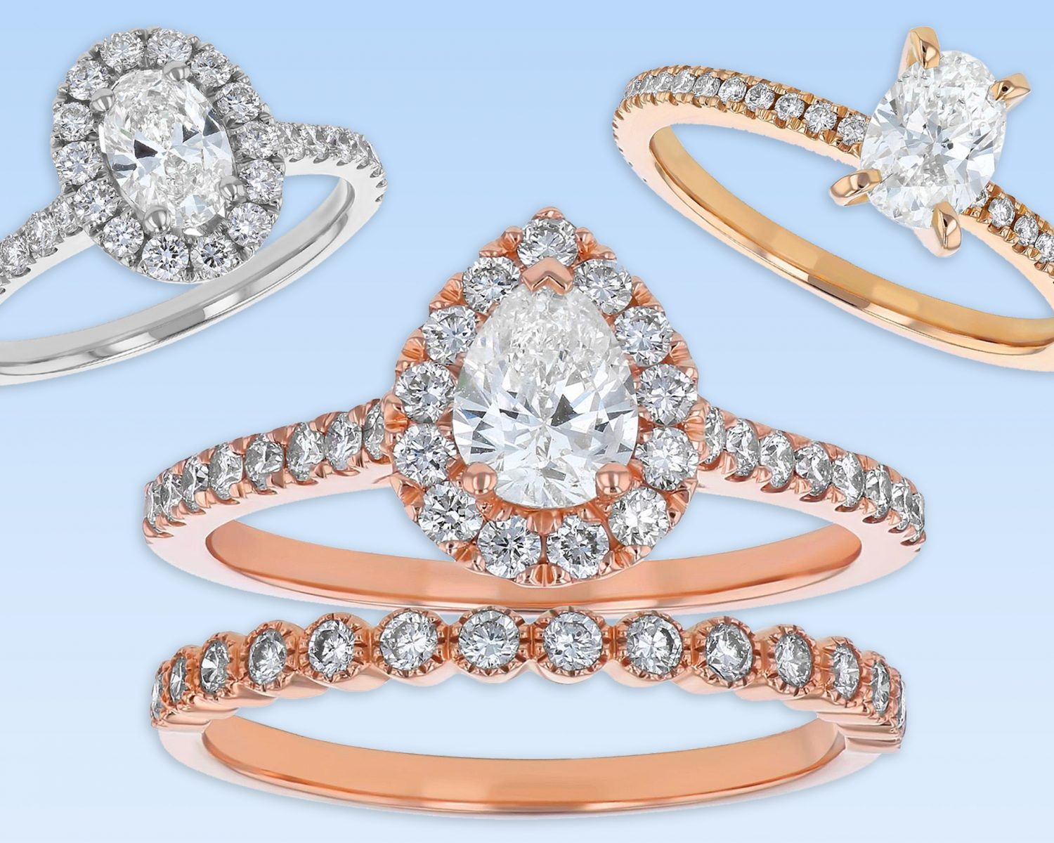 Bridal Collection Of Enement Rings