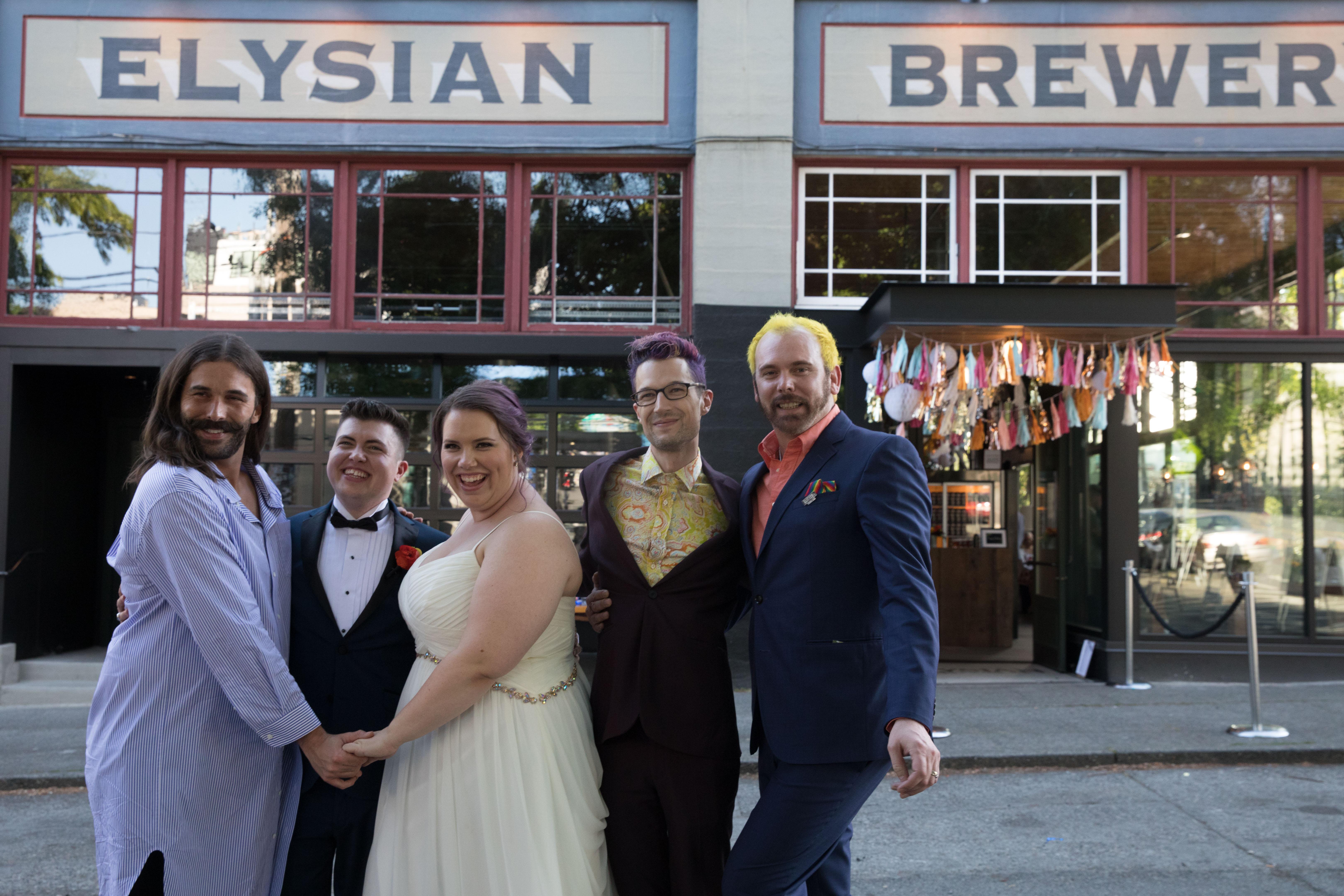 Jonathan Van Ness Officiates Wedding for Couple With Sweet Backstory