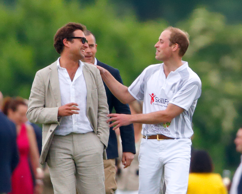 Prince William Best Friend Thomas Van Straubenzee