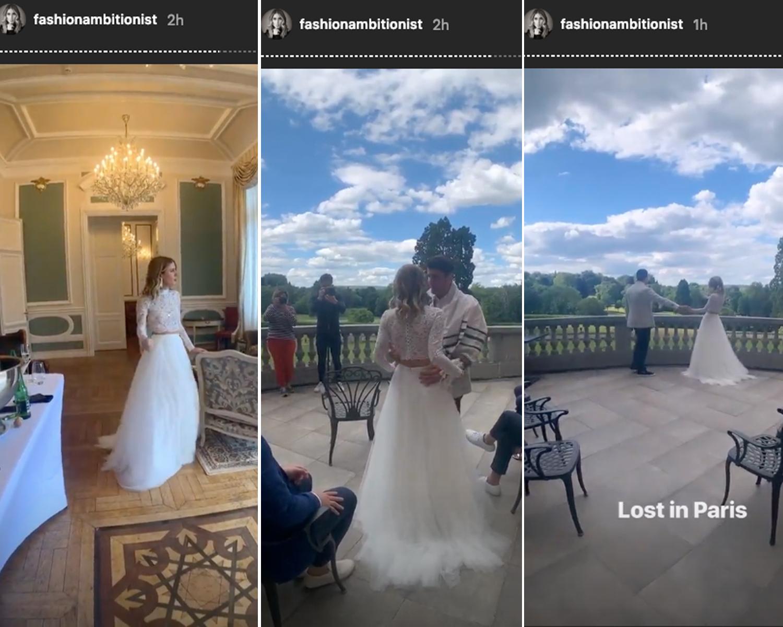wedding influencer proposal viral engagement france