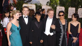 Robin Williams and family