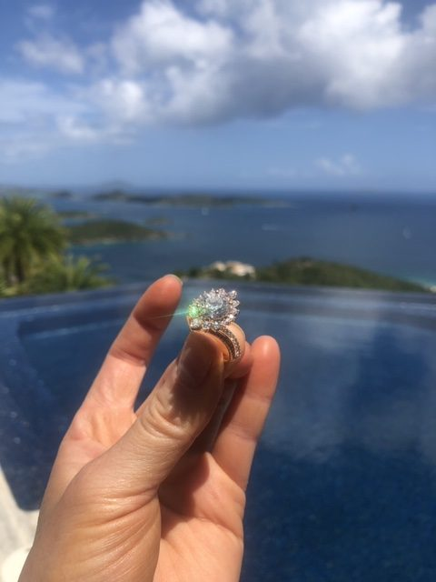 Hayley Paige's engagement ring
