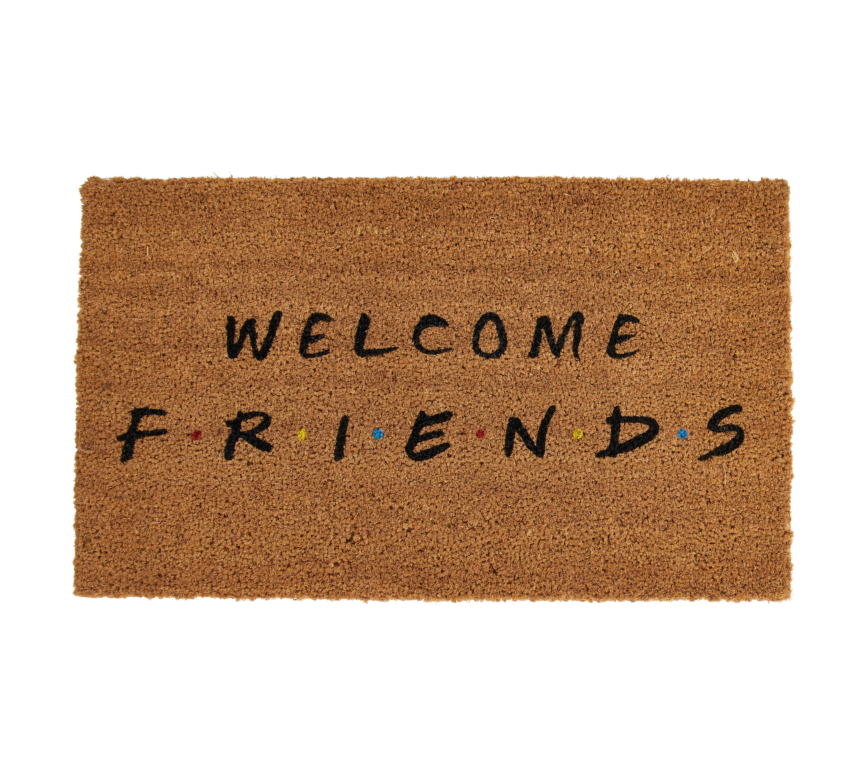 'Welcome Friends' doormat