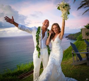 "Dwayne ""The Rock"" Johnson and Lauren Hashian Wedding"
