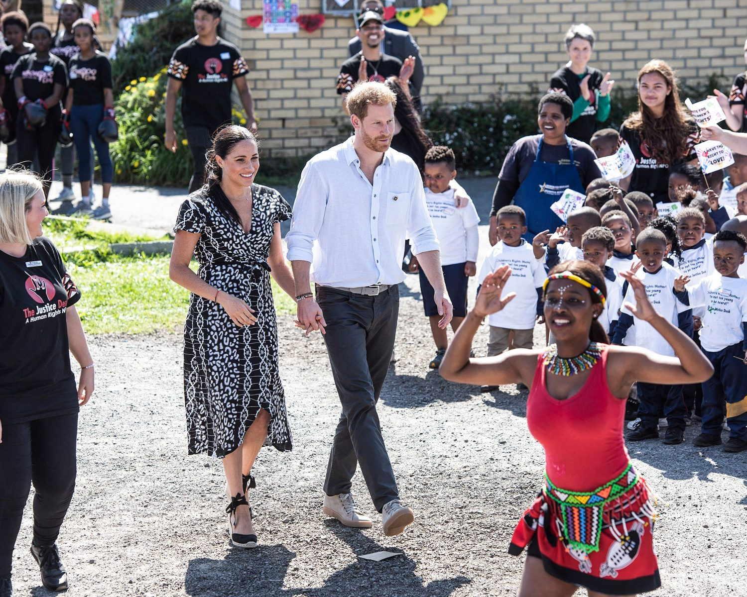 meghan markle and prince harry africa