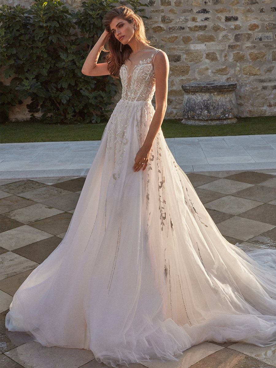Valentina Sampaio for Galia Lahav Fall 2020