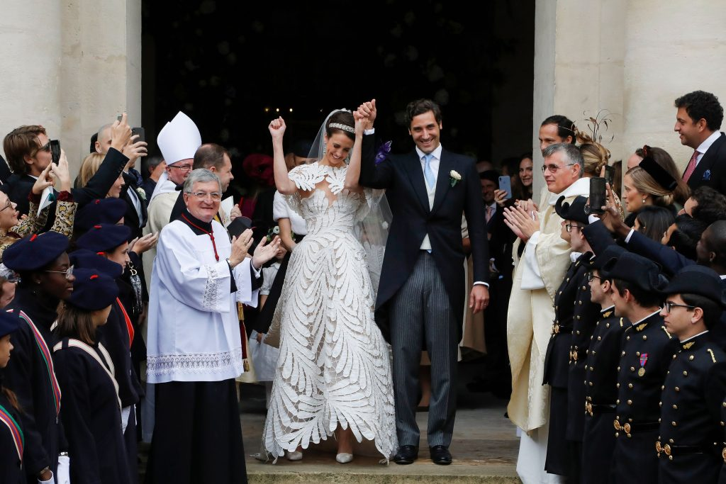 Prince Napol 233 On Marries Austrian Countess In Royal Wedding