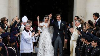 Prince Jean-Christophe Napoleon and Countess Olympia