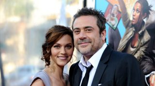 Actors Hilarie Burton and Jeffrey Dean Morgan