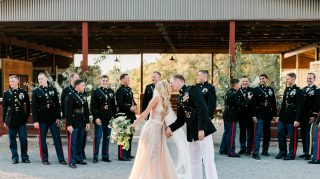 Kira Kazantsev and Andrew Dixon wedding