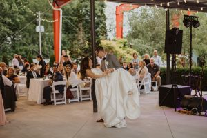 Olive Garden Wedding Catering with Breadstick Bar