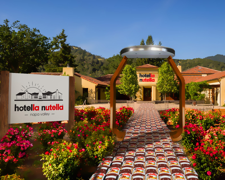 hotella nutella entrance