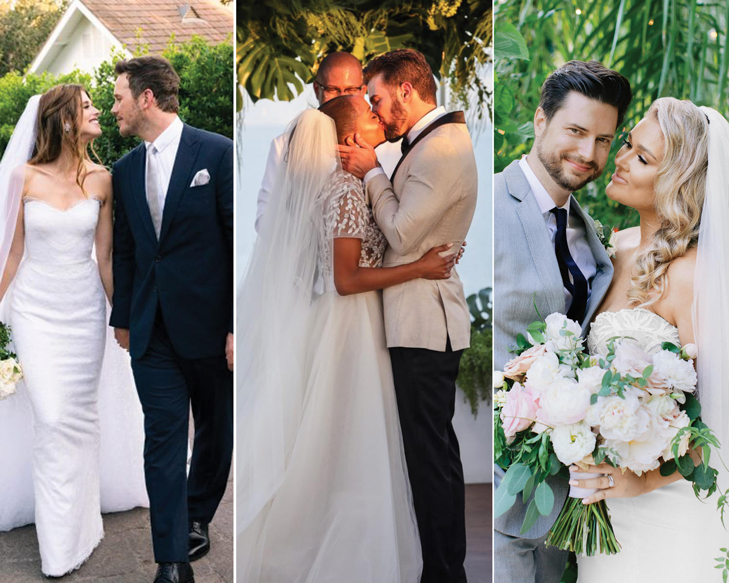 best celeb wedding dresses 2019
