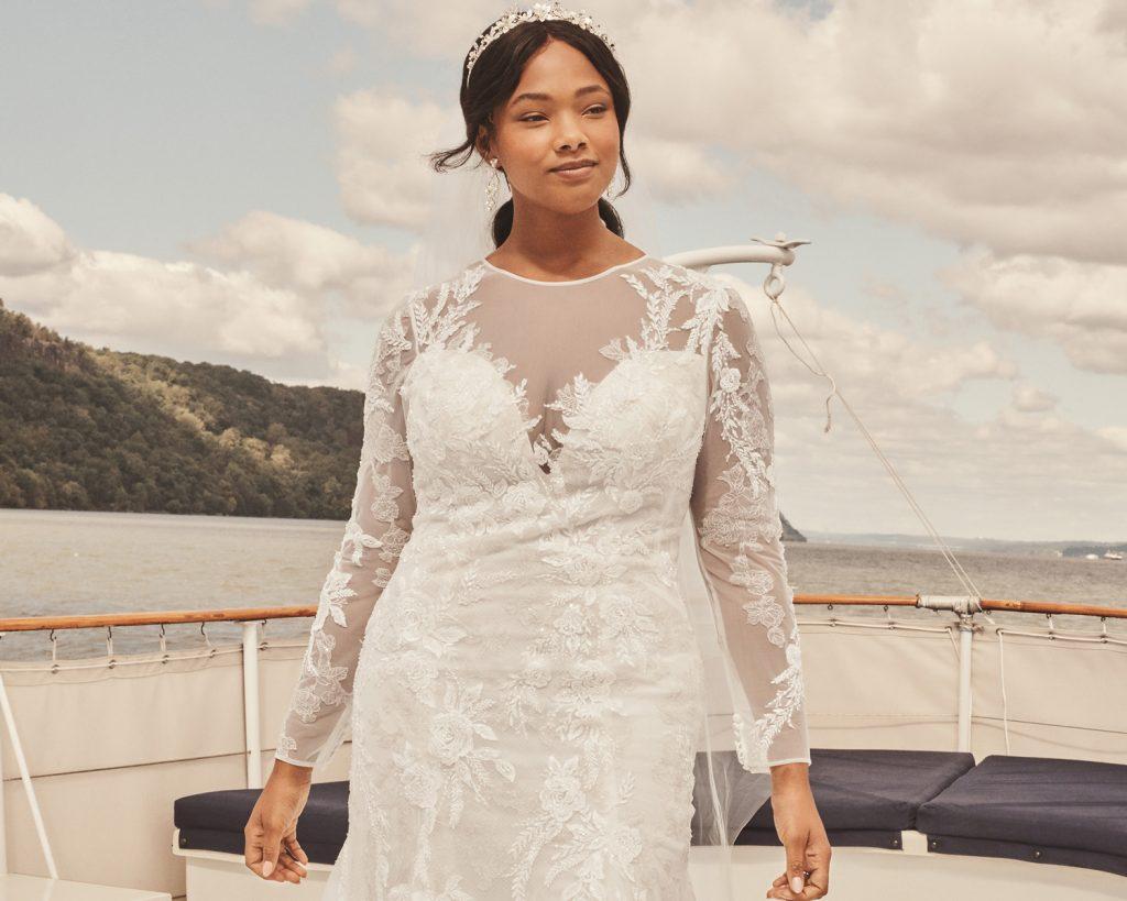David S Bridal Plus Size Wedding Dresses Are No Longer Extra Cost