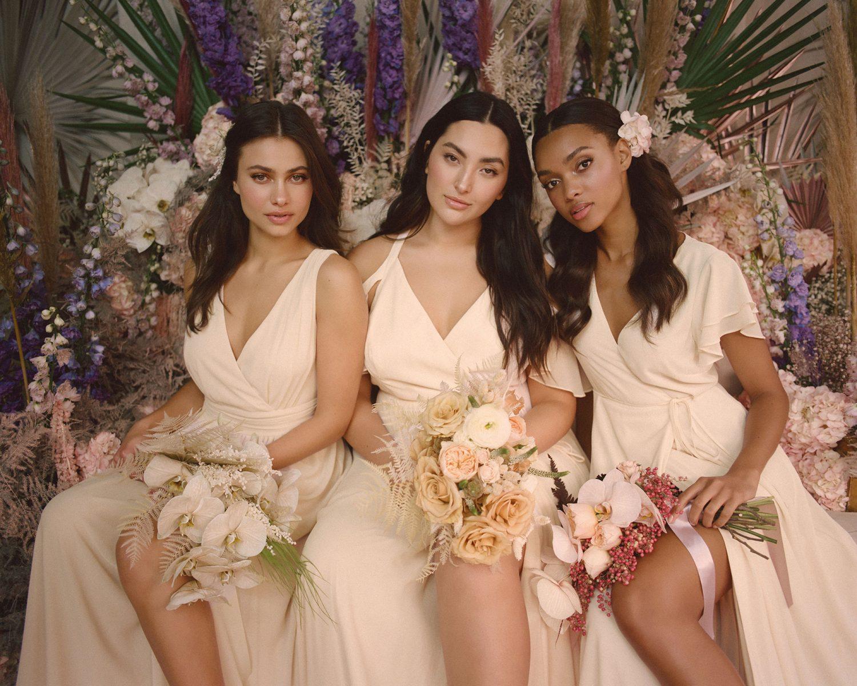 lulus expanded sizing the knot wedding dresses