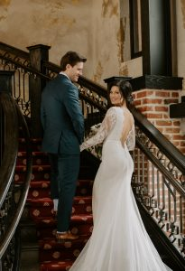 JJ Lane and Kayla Hughes wedding